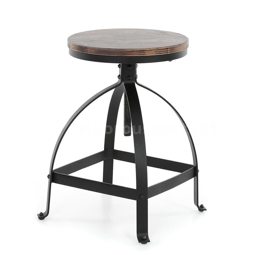 New Industrial Metal Style Swivel Kitchen Dining Chair  : H16839 1 614e ZlgD from www.ebay.com size 1000 x 1000 jpeg 50kB