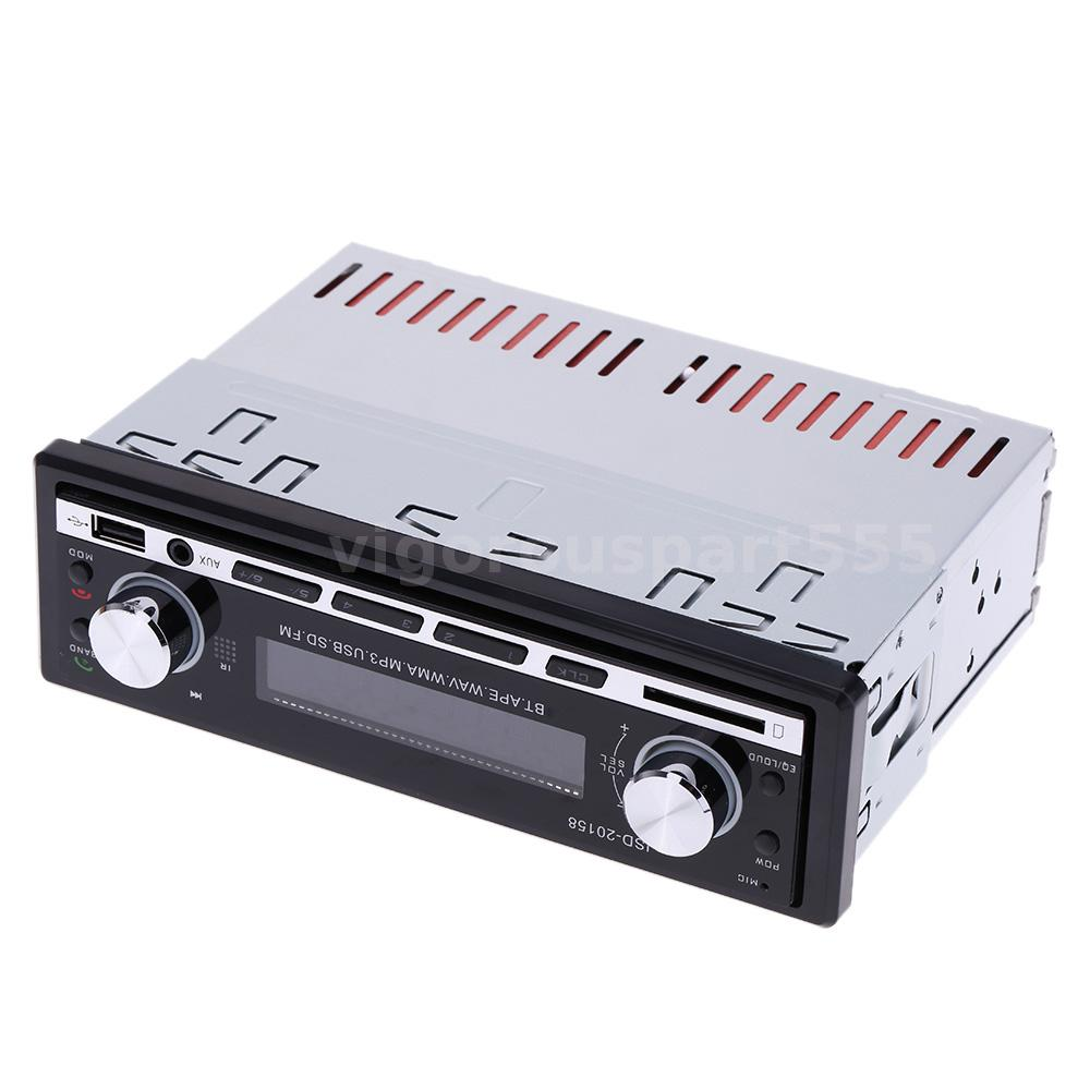 car mp3 player stereo radio audio fm receiver aux input. Black Bedroom Furniture Sets. Home Design Ideas