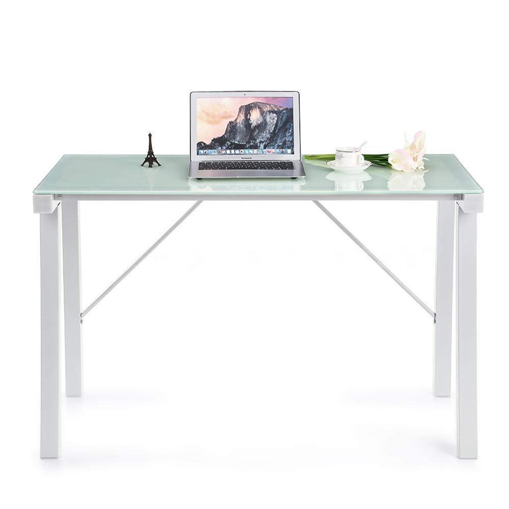 ikayaa computertisch pc arbeitstisch schreibtisch. Black Bedroom Furniture Sets. Home Design Ideas