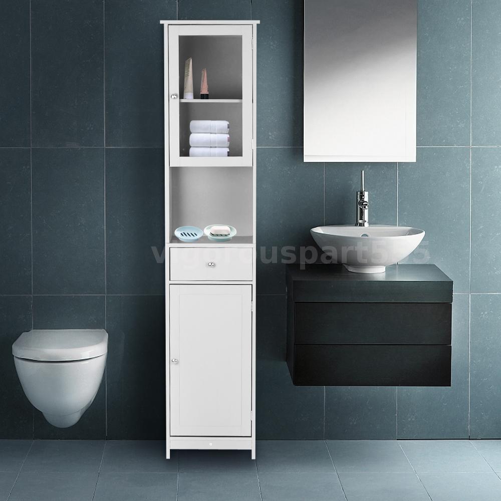 badezimmerschrank badschrank hochschrank badm bel schrank 40 cm breite neu r7z1 ebay. Black Bedroom Furniture Sets. Home Design Ideas