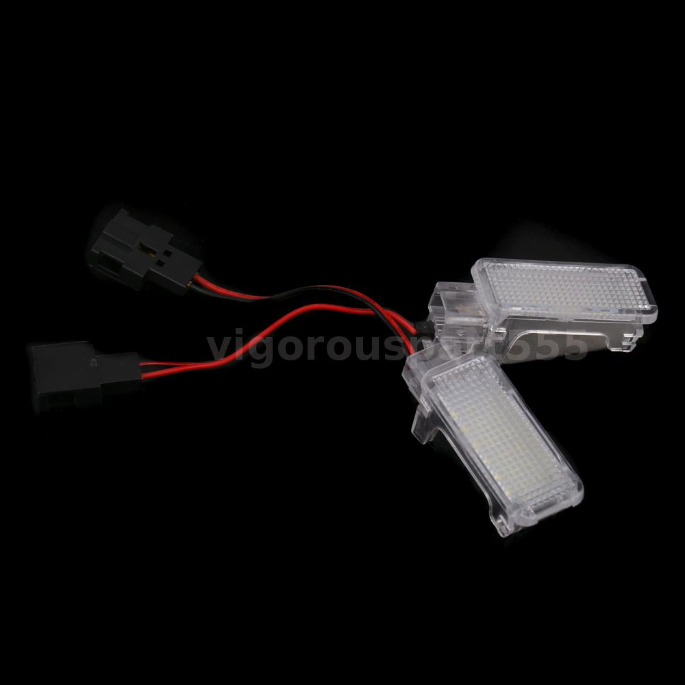2012 Audi A8 Interior: LED Door Interior Light Under Footwell Light For Audi A3