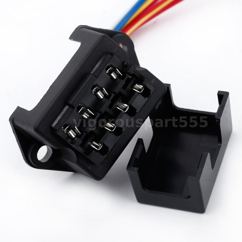 4 Way Dc32v Circuit Car Trailer Boat Blade Fuse Box Block Holder Ato Motorcycle Electronic This In Sturdy Construction Can Be Used Automotive Field Motorsport Applications Electrical Devices Trailers Cars Boats