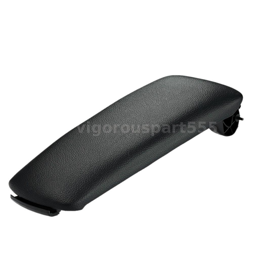Black Car Center Console Armrest Cover For Audi A4 B6 B7