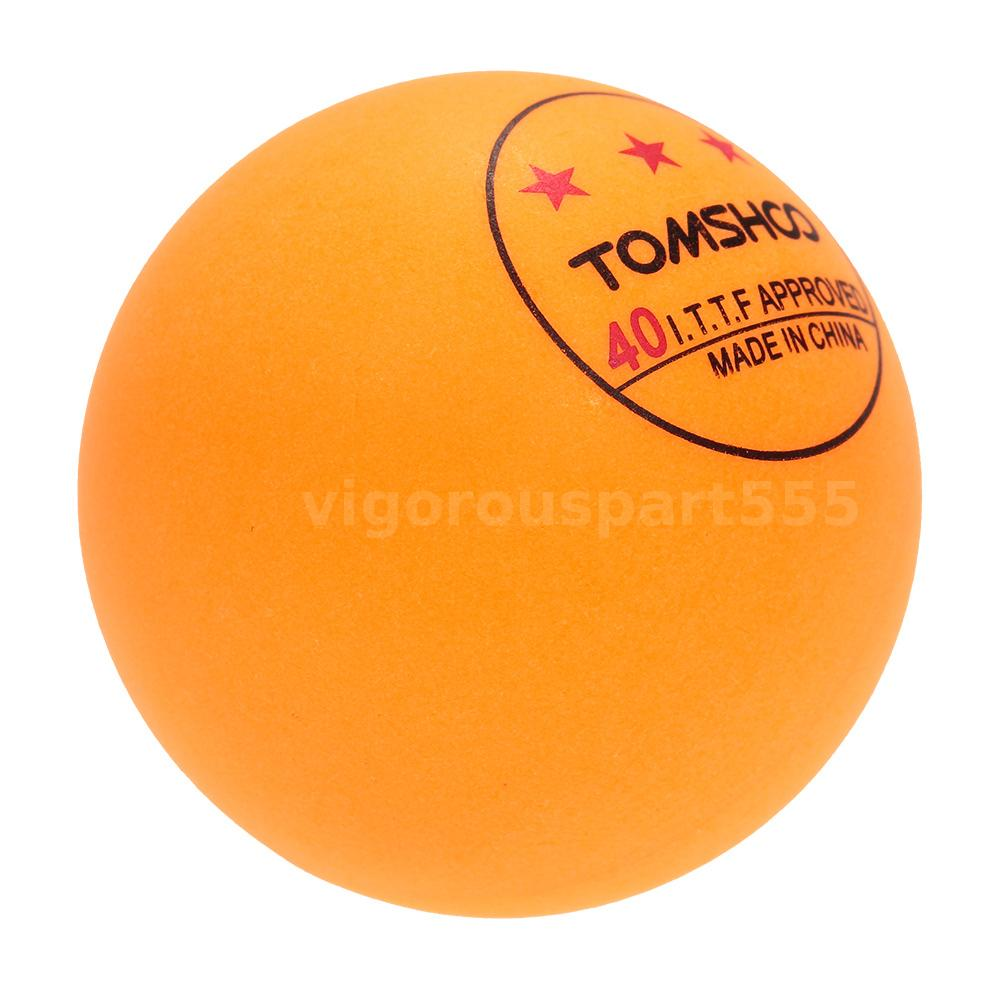50pcs 100pcs 3 star 40mm advanced table tennis balls ping for 1 star table tennis balls