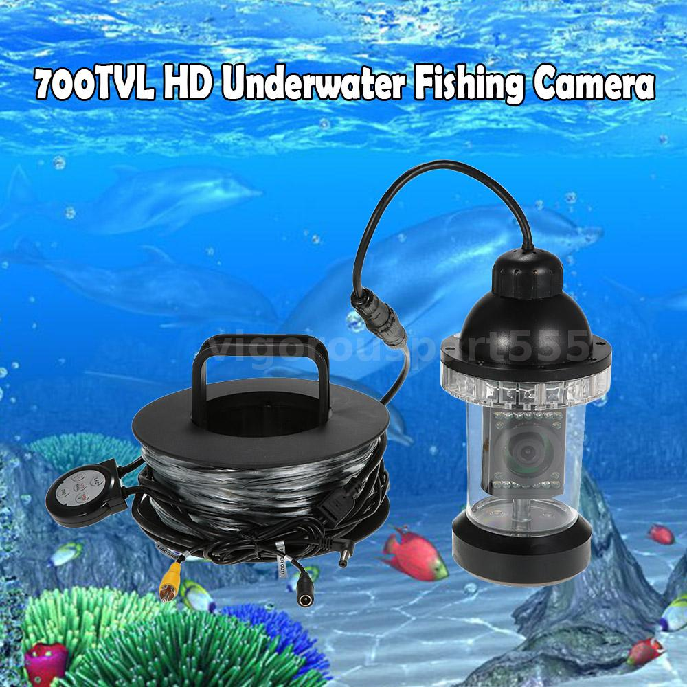 Waterproof Underwater Fishing Camera Fish Finder 20m