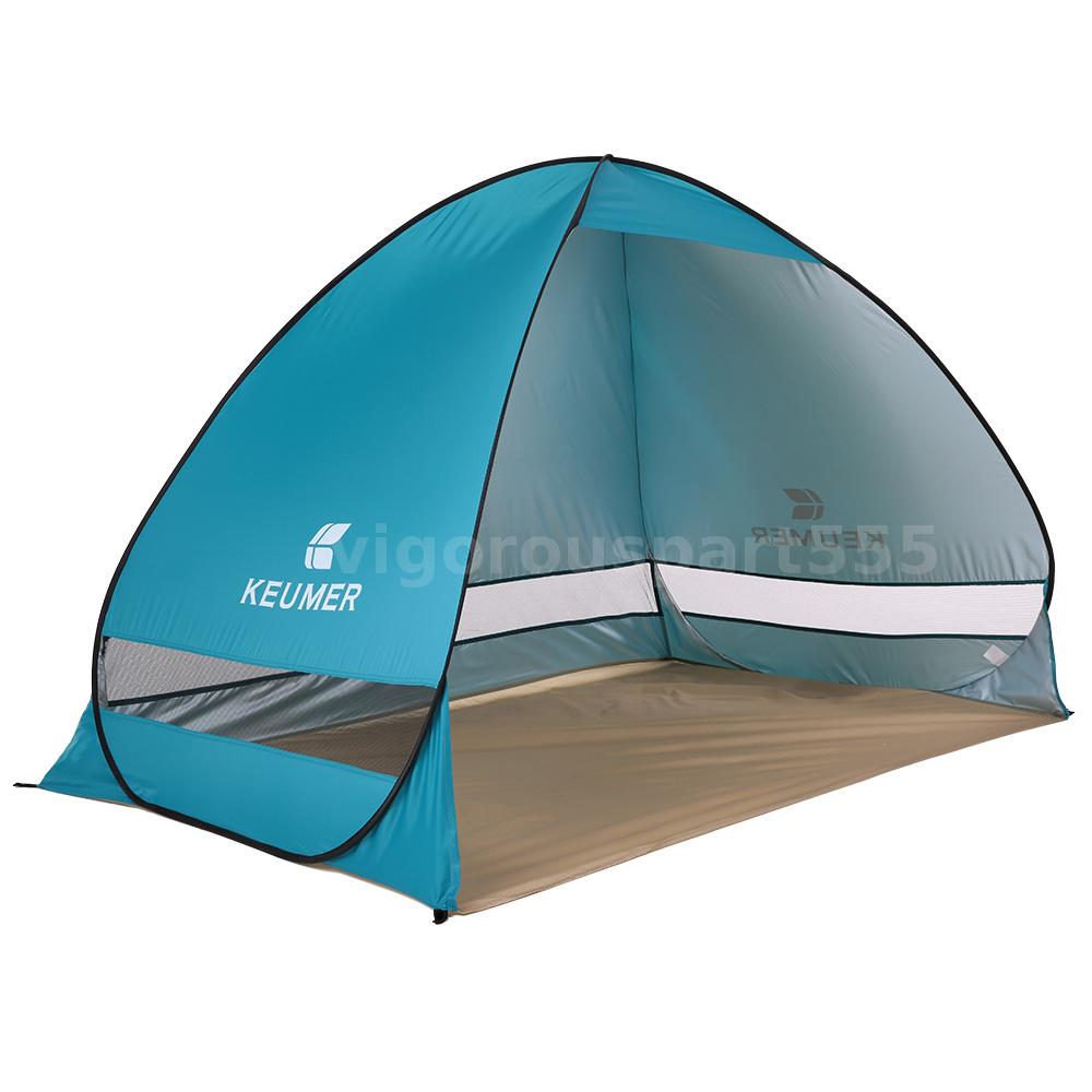 Portable Sports Canopy : Portable beach tent shelter sun uv shade pop up canopy